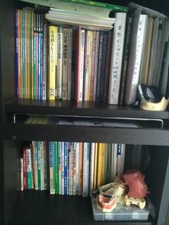 自宅の本棚